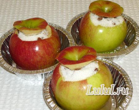 Как приготовить печеные яблоки в духовке с сушеными абрикосами рецепт с фото