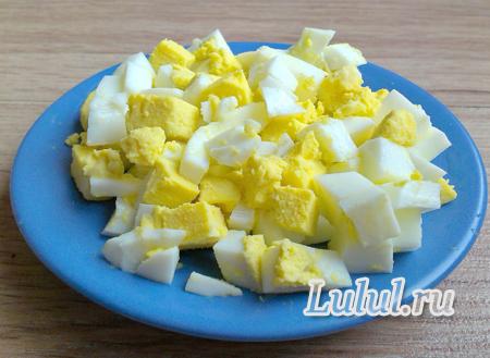 Cалат из телячьего сердца с сыром