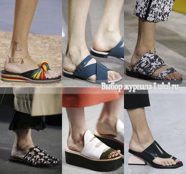 Модная обувь лето 2016 года