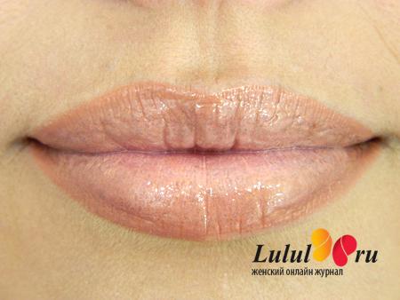 Как красить губы карандашом