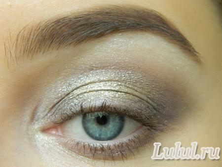 Кремовые тени для век и лёгкий макияж глаз пошаговый мастер-класс
