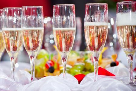 шампанское когда и к какому блюду подают