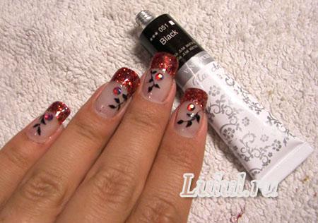 Красивые нарощенные ногти гелем домашних условиях