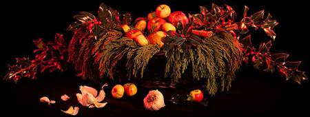 """Омоложение колдовством ритуал """"Купание в яблоках"""""""