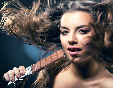Шоколадные маски для волос брюнеток: рост, питание, блеск, укрепление